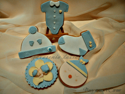 sugarpaste cookies for the maternity hospital