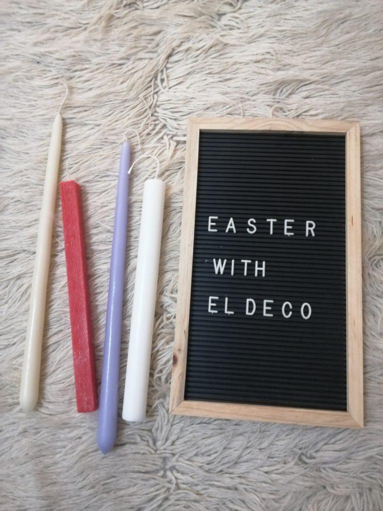 Πως φτιάξαμε τις φετινές μας λαμπάδες με υλικά από EL DECO