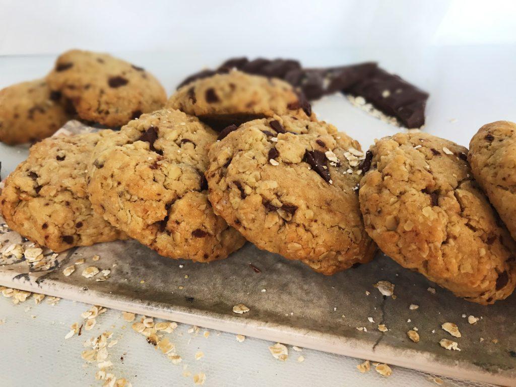 Αφράτα Cookies με βρώμη