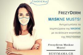 Frezyderm Maskne Musts!