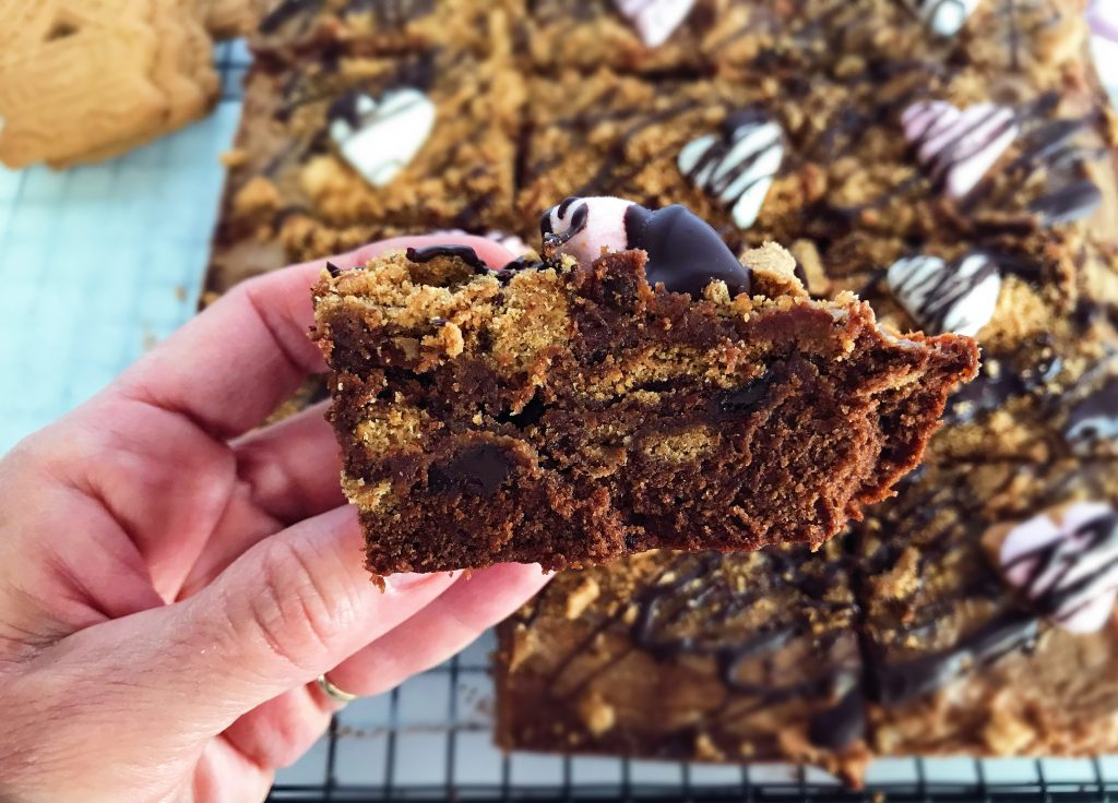 Συνταγή για υπέροχα και πεντανόστιμα Brownies Biscoff