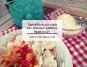 Τορτελίνια με κιμά και κόκκινη σάλτσα λαχανικών