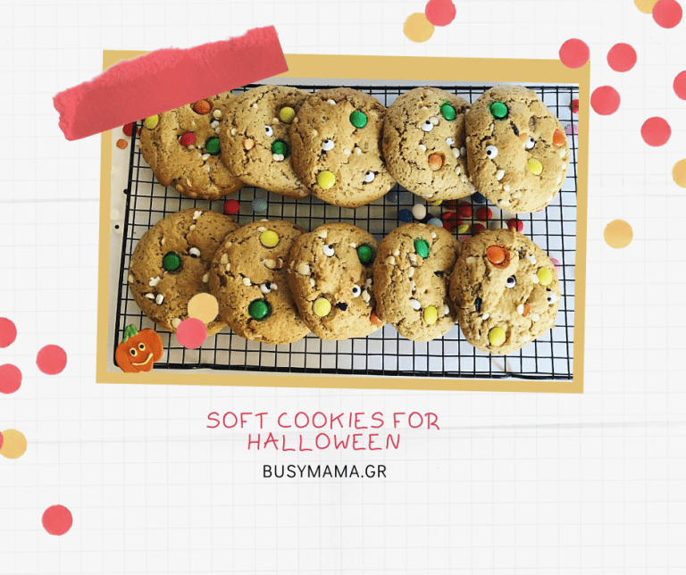 Soft Cookies for Halloween
